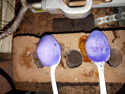 Making the PVP Polymer With PVP K90 Powder and Iodine and Lye As Well As Dyes.