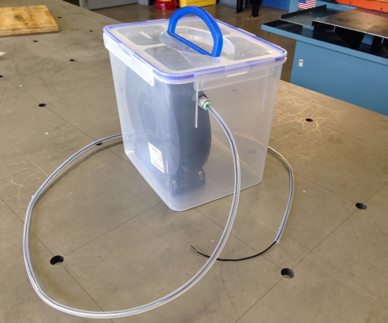 3D Printer Filament Desiccator Chamber for Hygroscopic Materials