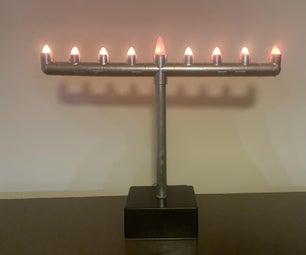 Hanukkah Menorah (WiFI, Homekit and Siri Controlled)