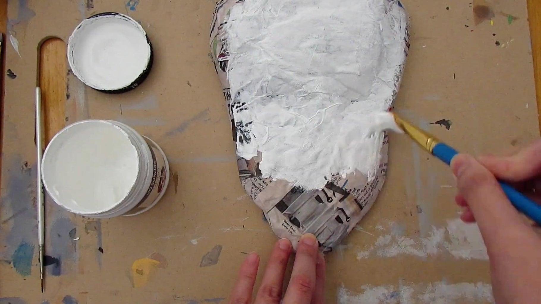 Paper Mache Head Base
