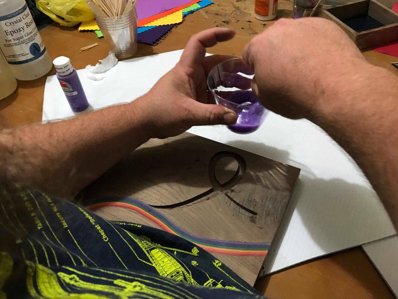 Filling the Ribbon