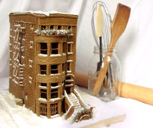 Build a Gingerbread Brownstone