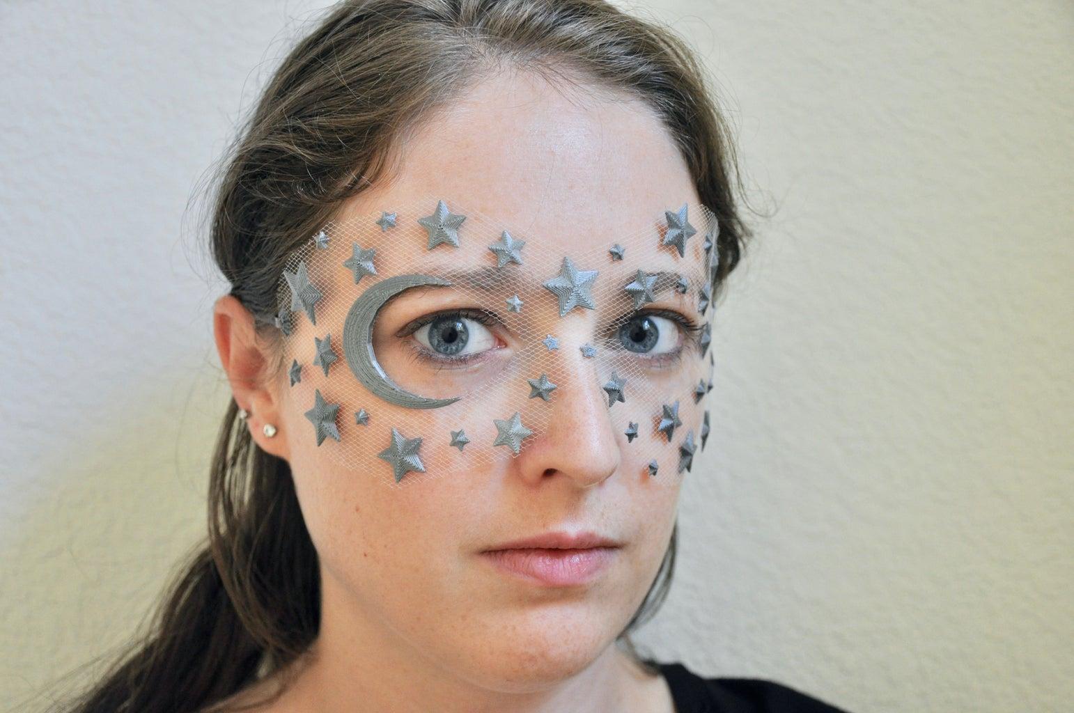 Moon and Stars Mask