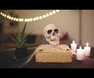 Levitating Skull
