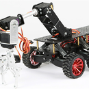 6WD Shock Absorption  Robot for Arduino