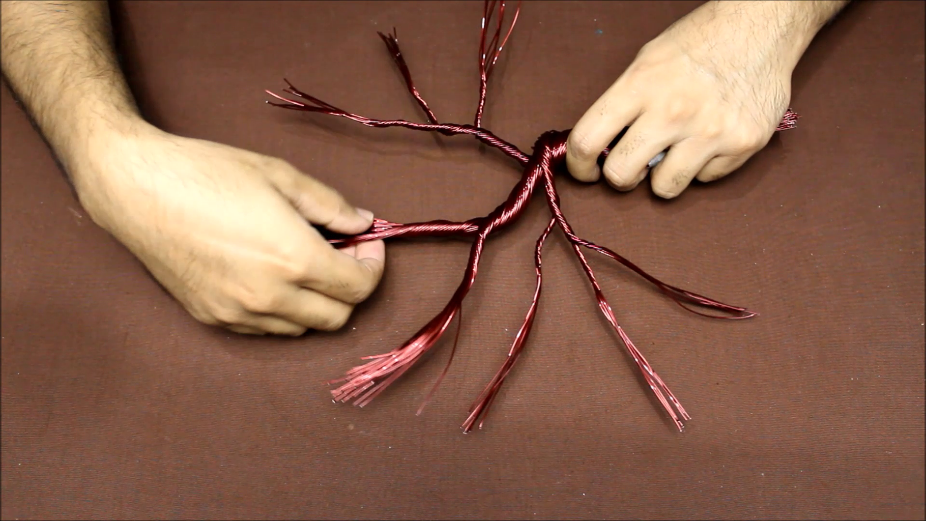How to Make Wire Tree