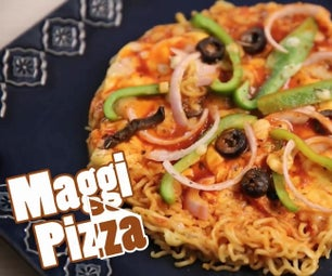 How to Make Maggi Pizza #maggipizza Food Recipes Easy Maggi Pizza Veg Latest Food Recipe Different