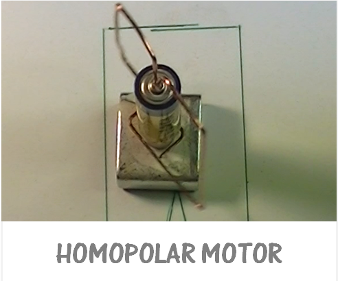 Homopolar DC motor