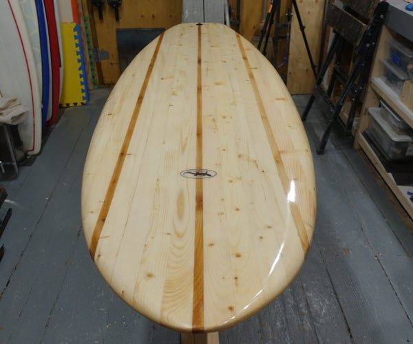 How to Make a Chambered Wooden Surfboard