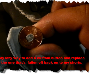 My Lazy Way in Replacing a Button