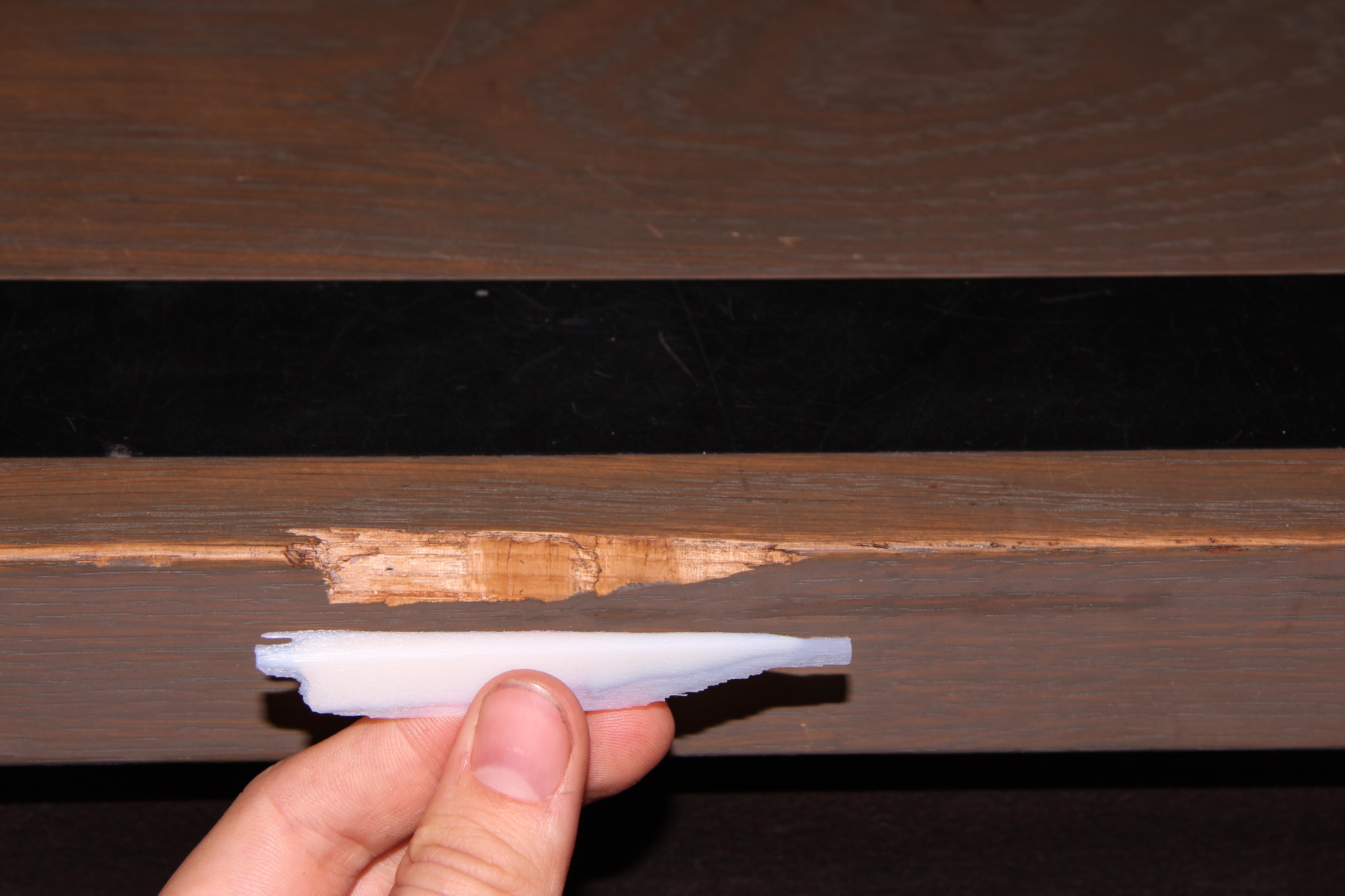 Future Stair Repair: 3D Scanning/ 3D Printing.
