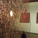 Coin Resin countertop