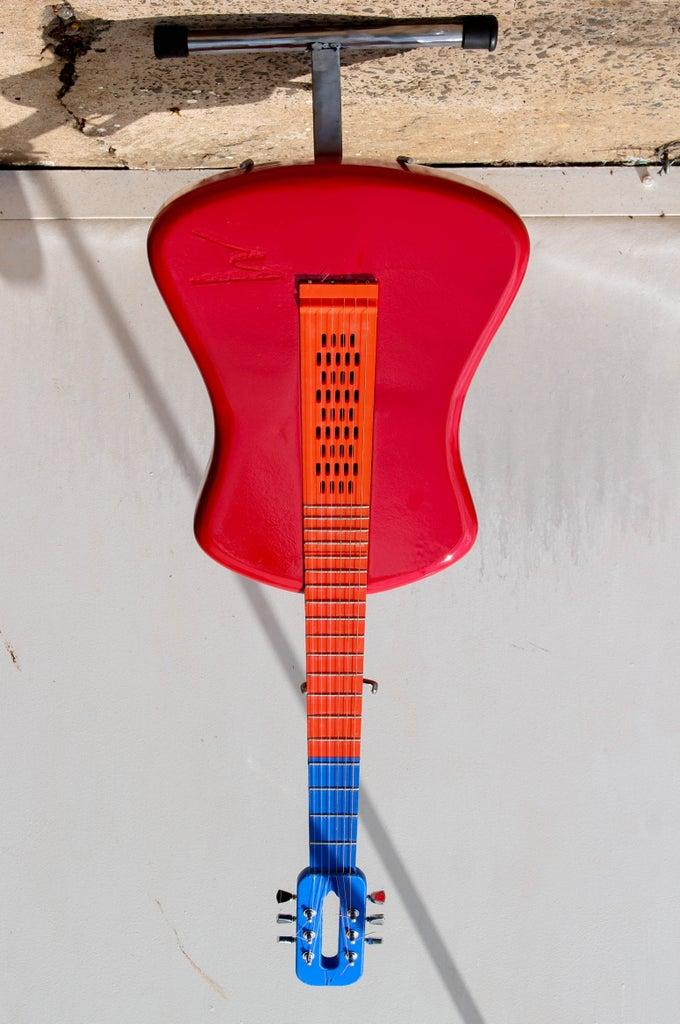 Fully 3D Printed  Acustic Guitar