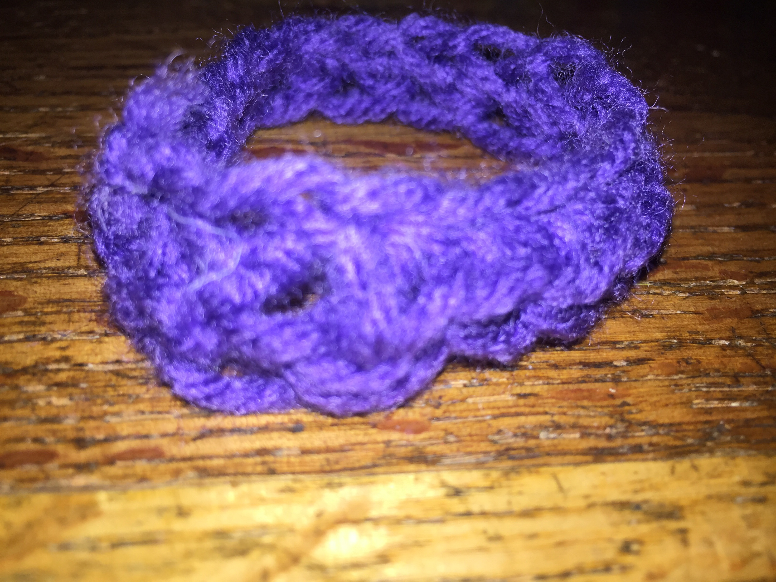 Crochet Pony Tail Holder