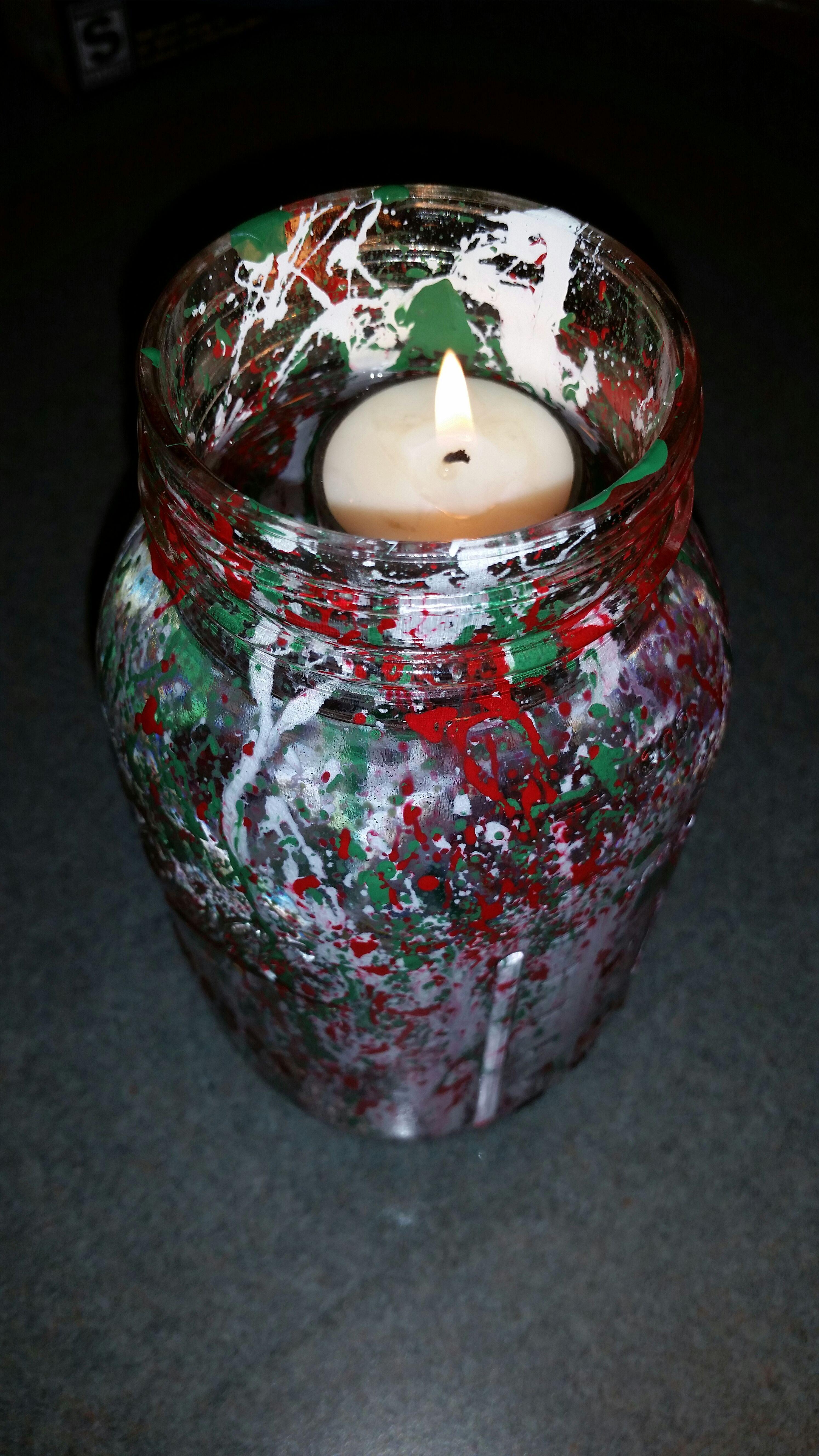 Mason Jar Christmas Light