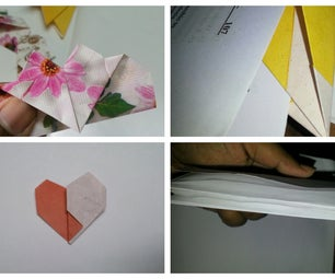 D.I.Y. 4 Cute,quick and Easy Paper Origami/school Supply/simple Craft