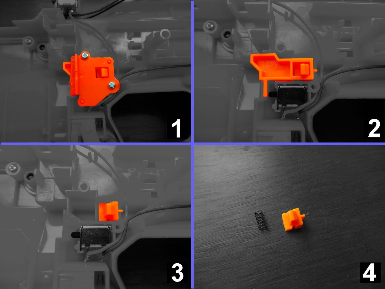 Remove the Clip Detector Trigger Block