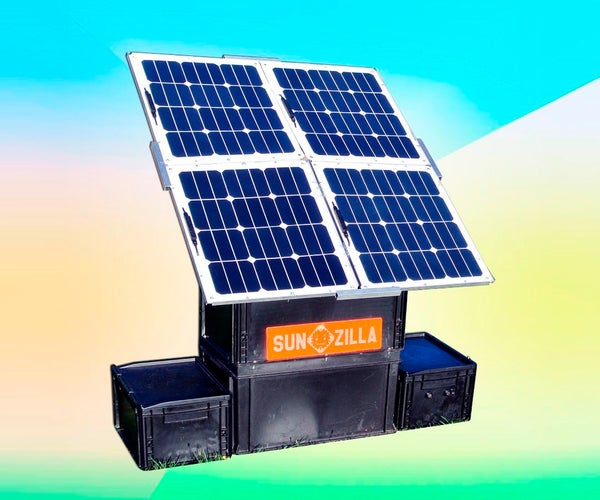 Pop-up Solar Generator: SunZilla 3.0