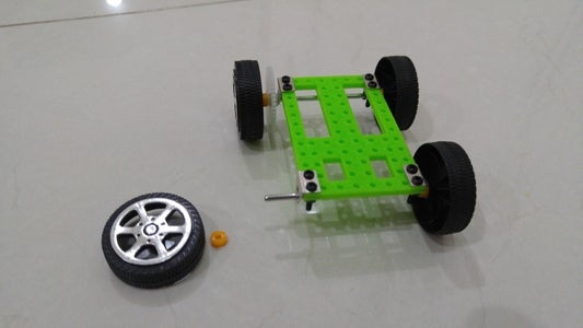 Install Wheels and Axles