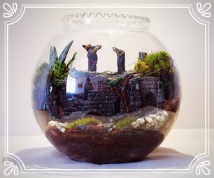 Castle Ruin Mini-garden