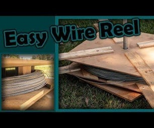 How to Build a 'Wire Spinner' (DIY Farm Fencing)