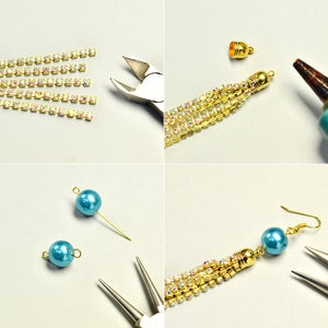 Make a Tassel With Chains