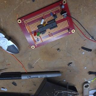 Self-made Arduino Board