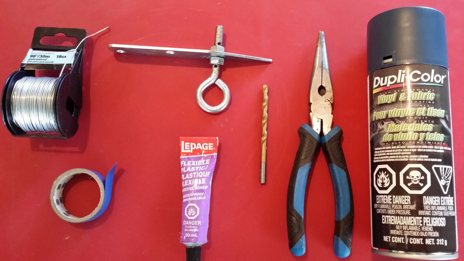 Tools and Materials Required