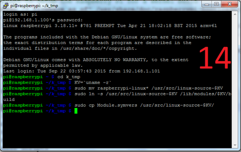 Set Up Raspberry Pi Build Environment