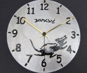 班克斯灵感铸铝钟