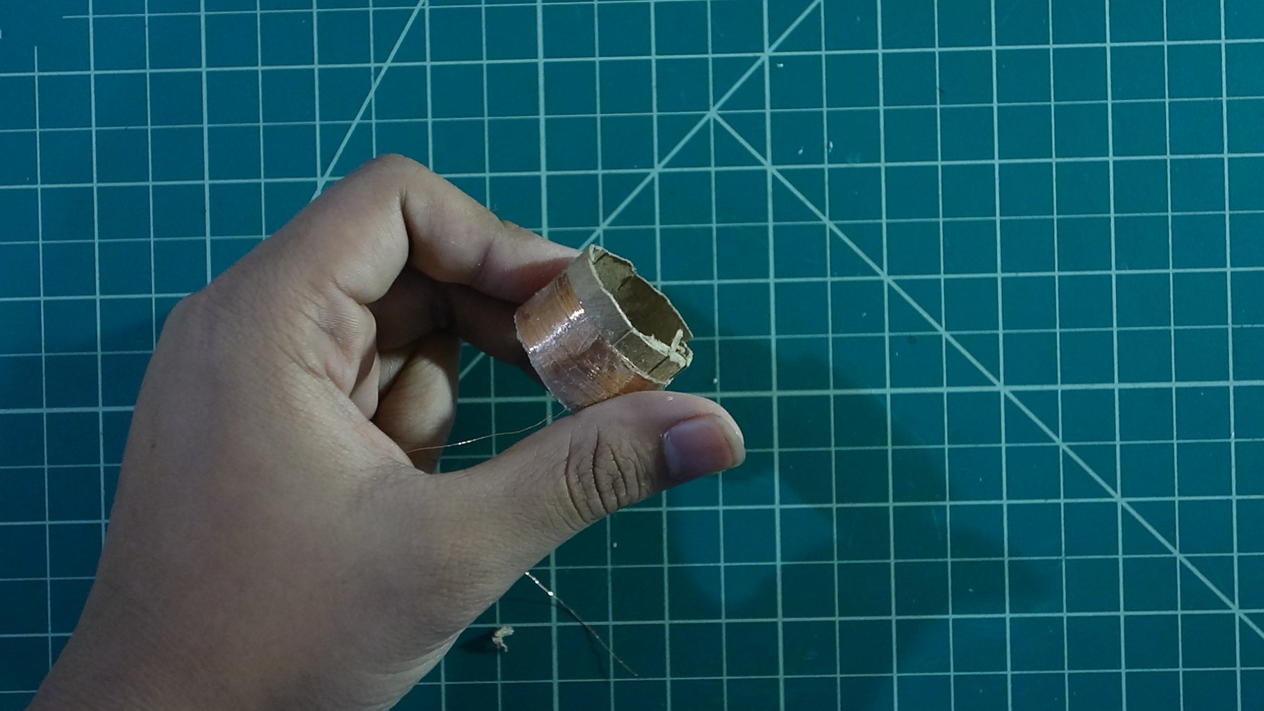 Making the Moving Coil (Part Three)