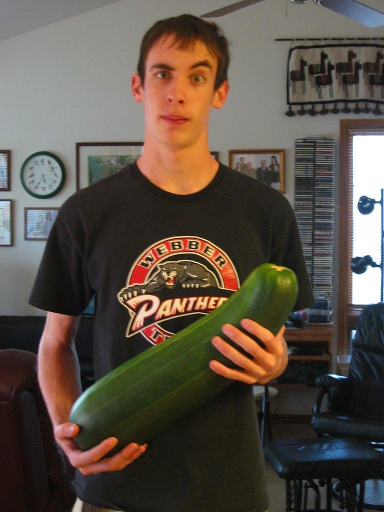 Find an Oversized Zucchini