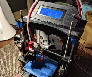Printable Prusa I3 Style Mini 3D Printer! by 3Dtje
