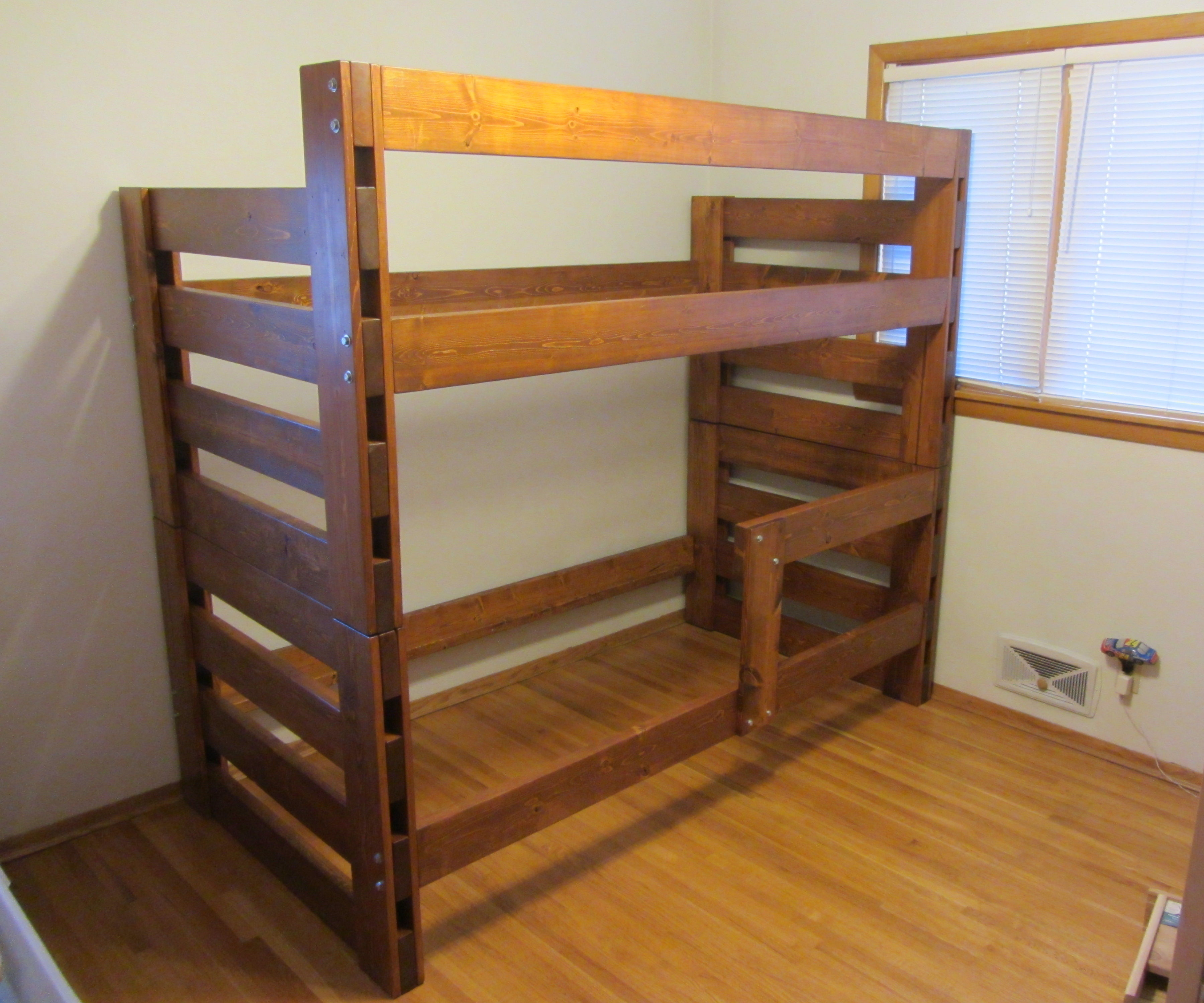 Picture of: Pine Bunk Bed 8 Steps With Pictures Instructables