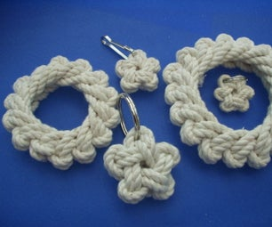 Single Strand Star Knot