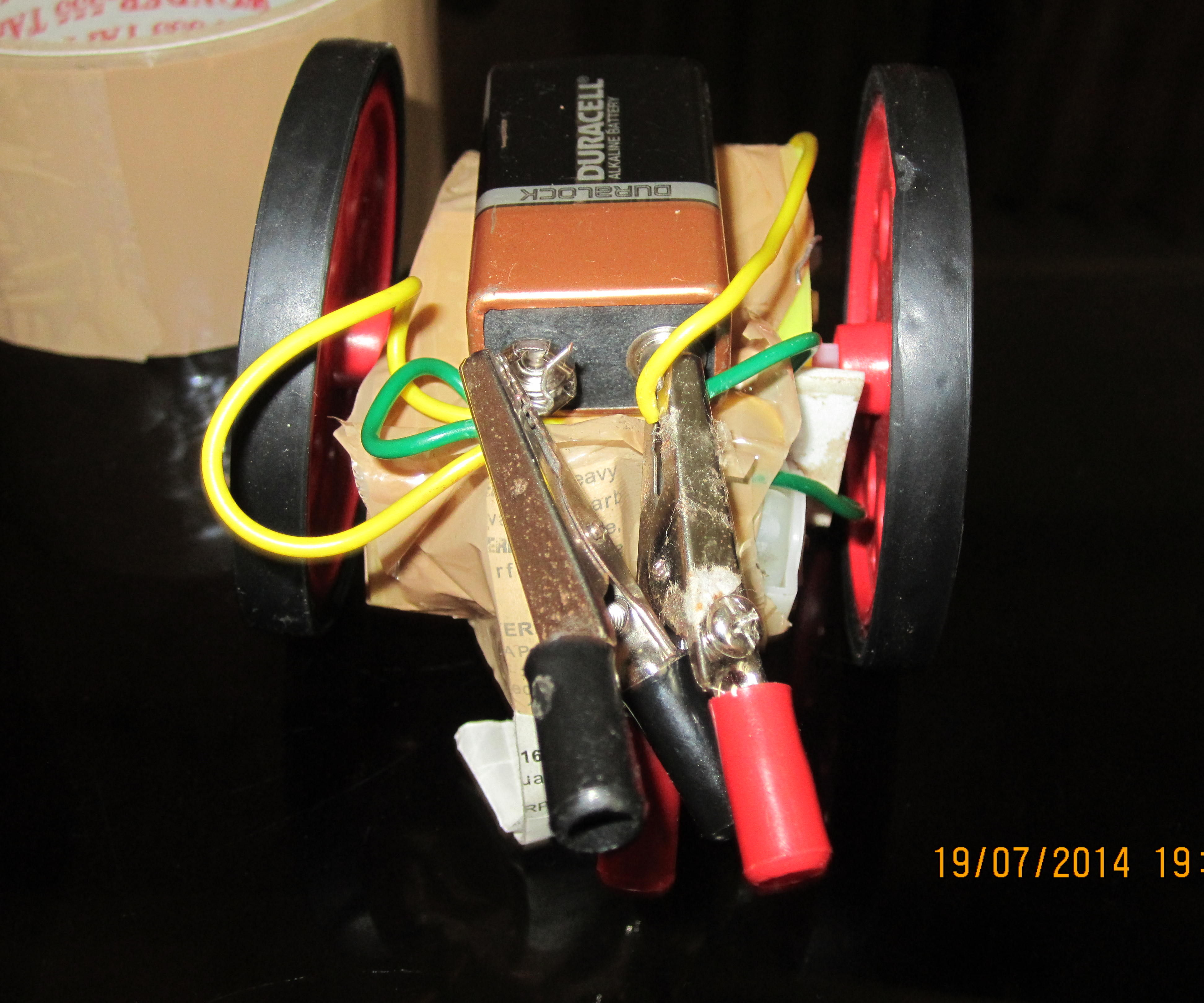 simple car (no chassis)