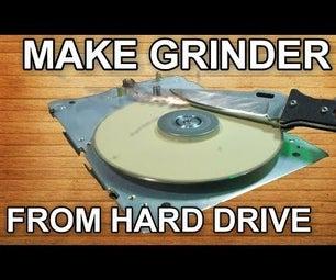 HDD HACK - Make Grinder From Old Hard Drive