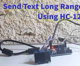 How to Send Text Long Range Distance Using HC-12