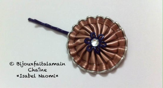 How to Make a Hair Accessory With Coffee Pods