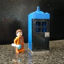 LEGO Tenth Doctor, Sonic Screwdriver, & TARDIS