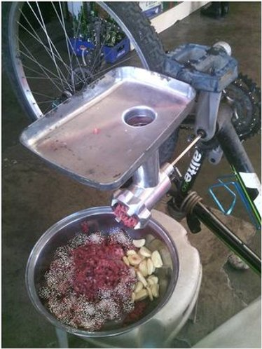 Mountain Bike Meat Grinder.