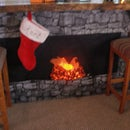 Faux Fireplace anywhere!