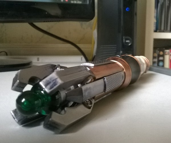 Making an Authentic Looking Doctor Who Sonic Screwdriver