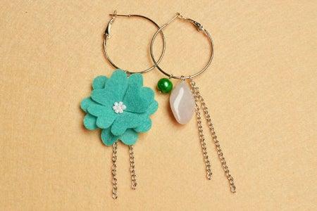 Complete the Chain Tassel Dangle Earring