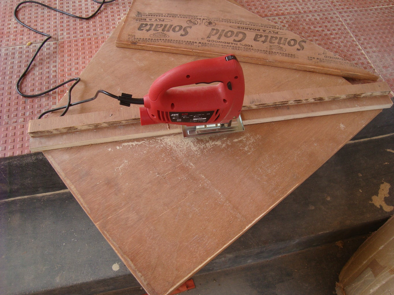 Cutting the Triangular and Small Pieces
