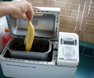 Mr. Compost: How to Make an In-kitchen Compost Turbocharger!
