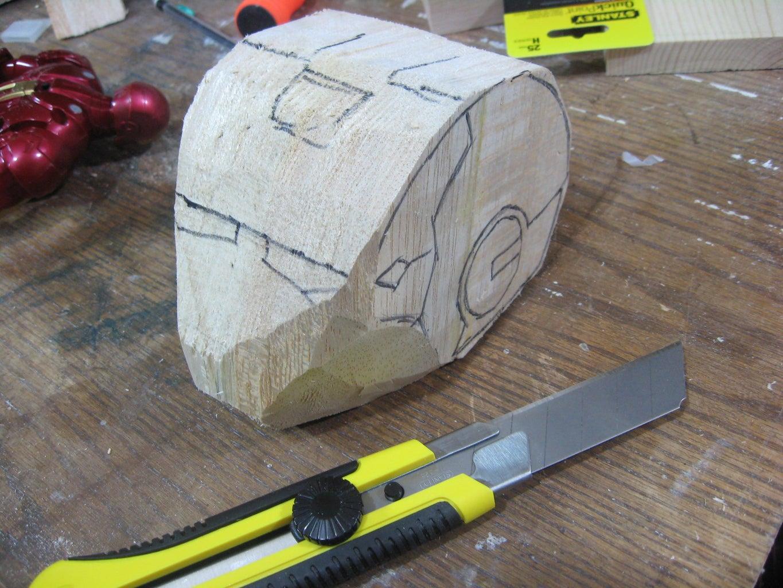 Begin Carving