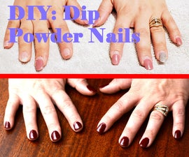How to Do Dip Powder Nails at Home