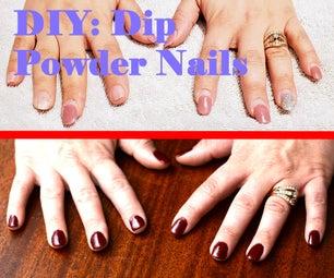 How to Do Dip Powder Nails at Home