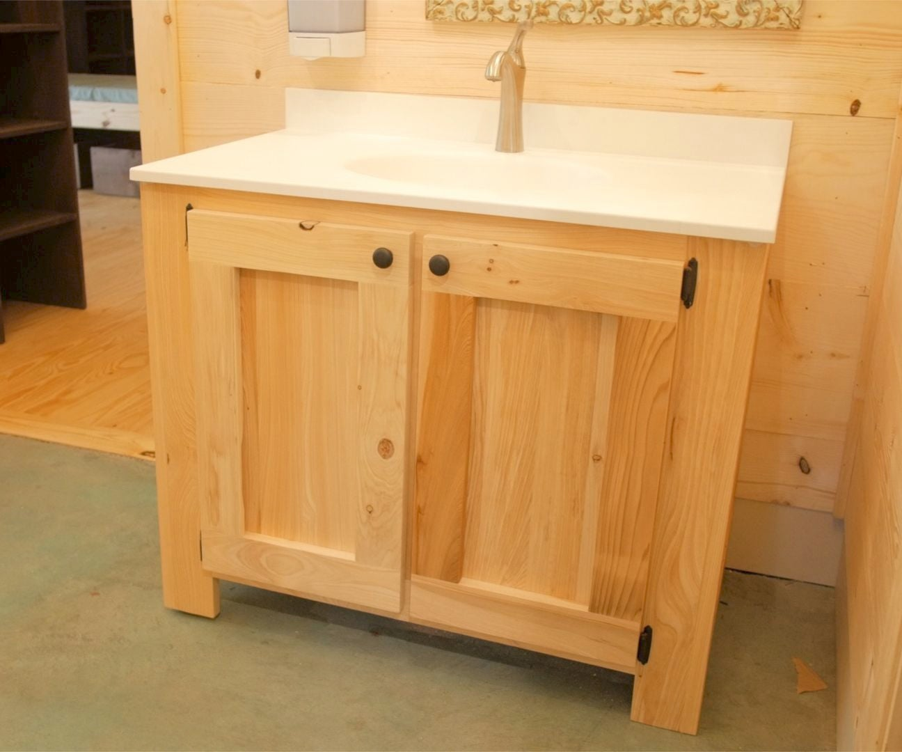 Diy Rustic Bathroom Vanities How To Build Woodworking 14 Steps With Pictures Instructables